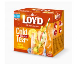 Loyd Леден Чај со Вкус на Јаболко и Ананас