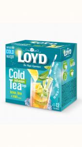 Loyd Леден Чај со Вкус на Лимон, Лимета и Нане